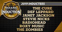 2019 Rock Hall Inductees