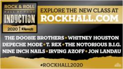Rock Hall 2020 Inductees