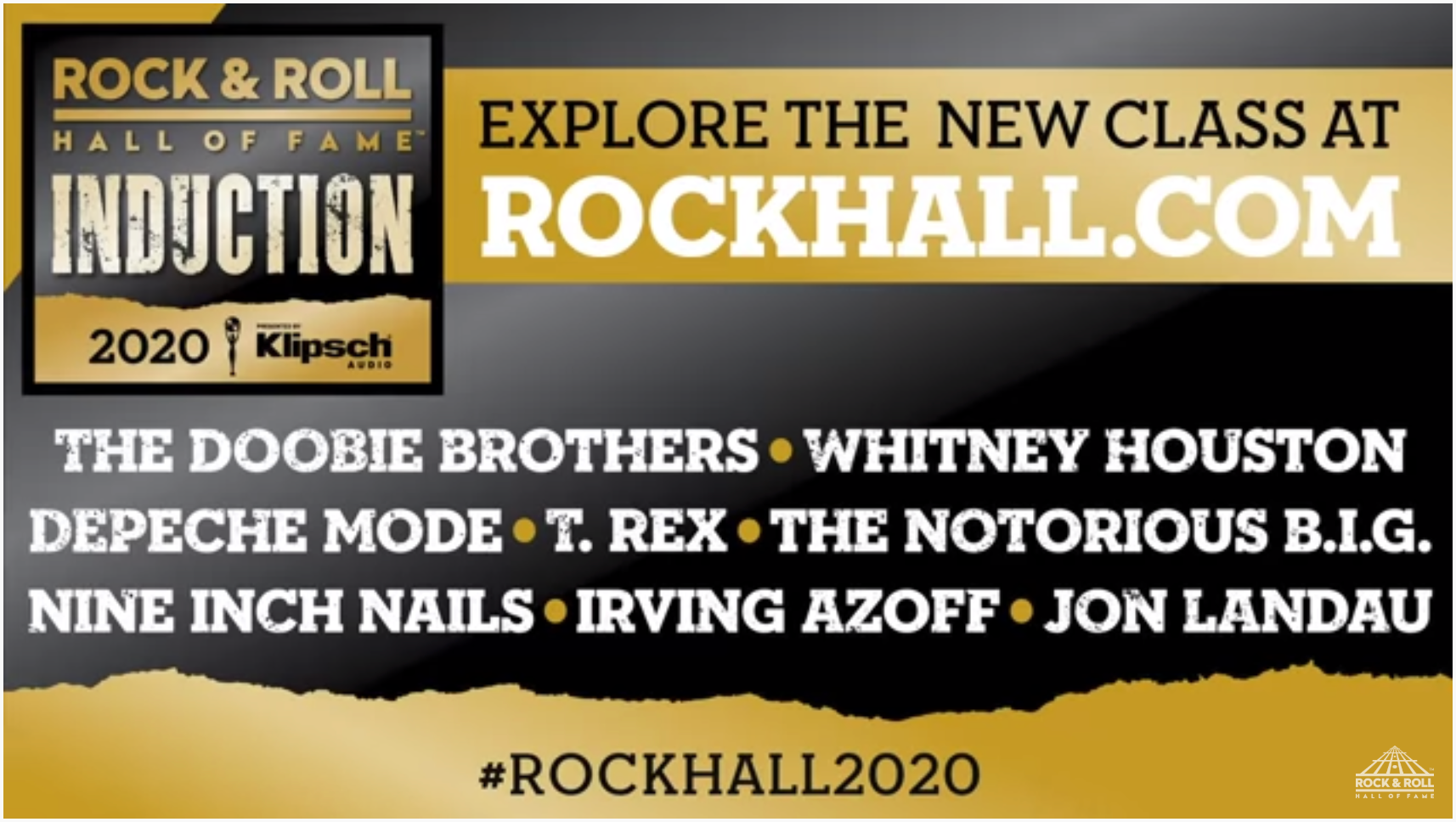 Rock Hall 2020 Inductees